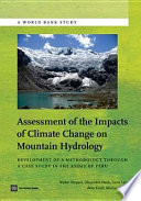 Assessment of the Impacts of Climate Change on Mountain Hydrology