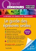 Pdf Objectif Concours Le guide des épreuves orales Telecharger