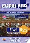 Etapas plus Nivel A2.2 Fotos y Pasaporte