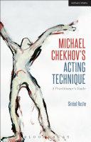 Pdf Michael Chekhov's Acting Technique Telecharger