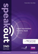 Speakout Upper Intermediate 2nd Edition Students' Book for DVD-ROM and MyEnglishLab Pack