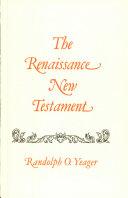 Pdf Renaissance New Testament Telecharger