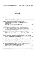 Journal of Neurobiology