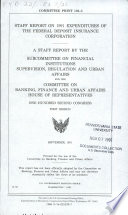 Staff Report on 1991 Expenditures of the Federal Deposit Insurance Corporation