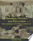 Progress  Poverty and Exclusion