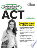 English and Reading Workout for the ACT  2nd Edition