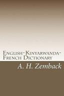 English-Kinyarwanda-French Dictionary