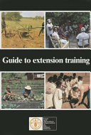 Pdf Guide to Extension Training