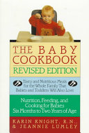 The Baby Cookbook  Revised Edition