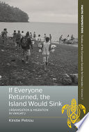 If Everyone Returned  The Island Would Sink