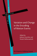 Variation and Change in the Encoding of Motion Events