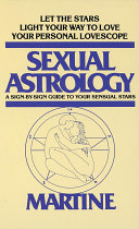 Sexual Astrology Book