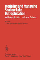 Pdf Modeling and Managing Shallow Lake Eutrophication Telecharger