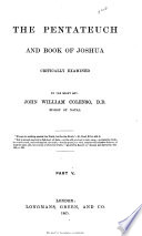 The book of Genesis analysed and separated  and the ages of its writers determined