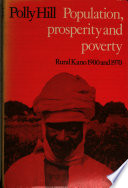 Population Prosperity And Pverty