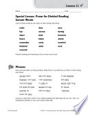 High Frequency Word Phrases Level 2 Get The Rhythm
