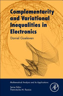 Complementarity and Variational Inequalities in Electronics