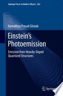Einstein s Photoemission Book