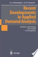Recent Developments in Applied Demand Analysis