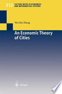 An Economic Theory Of Cities Book PDF