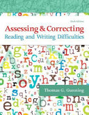Assessing and Correcting Reading and Writing Difficulties, with Enhanced Pearson EText -- Access Card Package