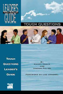 Tough Questions Leader s Guide Book