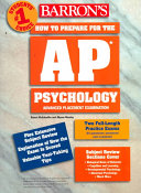 Barron S How To Prepare For The Ap Psychology Advanced Placement Examination