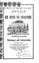 Annals of Sainte Anne de Beaupre