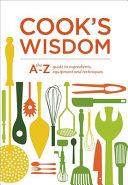Cook S Wisdom Book
