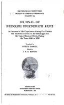 Journal of Rudolfph Friederich Kurz