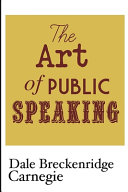 The Art of Public Speaking Book