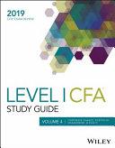 Wiley Study Guide for 2019 Level I CFA Exam: Corporate finance, portfolio management, & equity