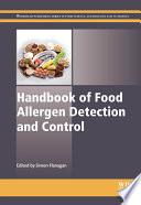 Handbook of Food Allergen Detection and Control Book
