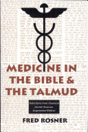 Pdf Medicine in the Bible and the Talmud