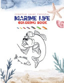 Creative Haven Fanciful Marine Life Coloring Book