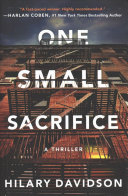 One Small Sacrifice Book