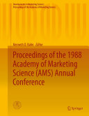 Proceedings of the 1988 Academy of Marketing Science  AMS  Annual Conference