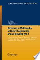Advances In Multimedia Software Engineering And Computing Vol 1 Book PDF