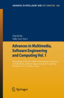 Advances in Multimedia  Software Engineering and Computing Vol 1