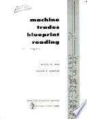 Machine Trades Blueprint Reading