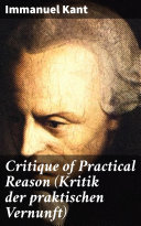 Pdf Critique of Practical Reason (Kritik der praktischen Vernunft)