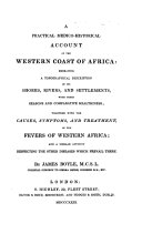A Practical Medico historical Account of the Western Coast of Africa