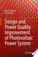 Design and Power Quality Improvement of Photovoltaic Power System Book