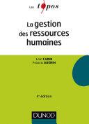 La gestion des ressources humaines - 4e éd