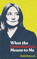 What the Constitution Means to Me (TCG Edition) Pdf/ePub eBook