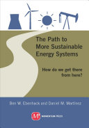 The Path to More Sustainable Energy Systems Book