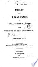 A Digest Of The Law Of Evidence In Civil And Criminal Cases