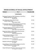 Indian Journal of Social Development Book