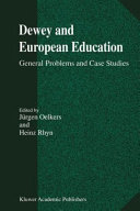Pdf Dewey and European Education Telecharger