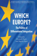 Which Europe?: The Politics of Differentiated Integration - Seite ii